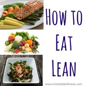 How to Eat Lean